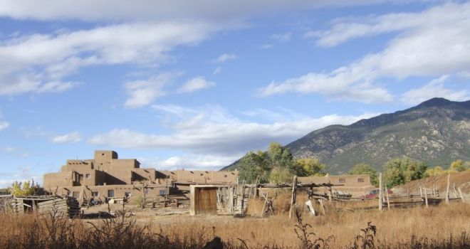 Taos Indian (Tewa) Pueblo, Northern New Mexico