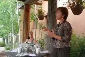 Wine Seminar- Pairing Wine with Food - Jo Ann Carolla-Polt ©John Lamkin
