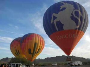 Ballooning getaway in Northern Arizona