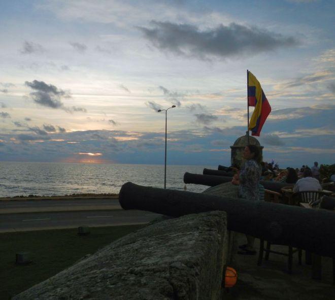 Day's End - Cartagena, Colombia ©John Lamkin